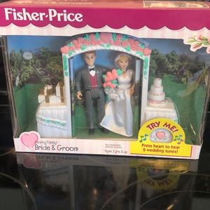 Fisher-Price Loving Family Bride & Groom